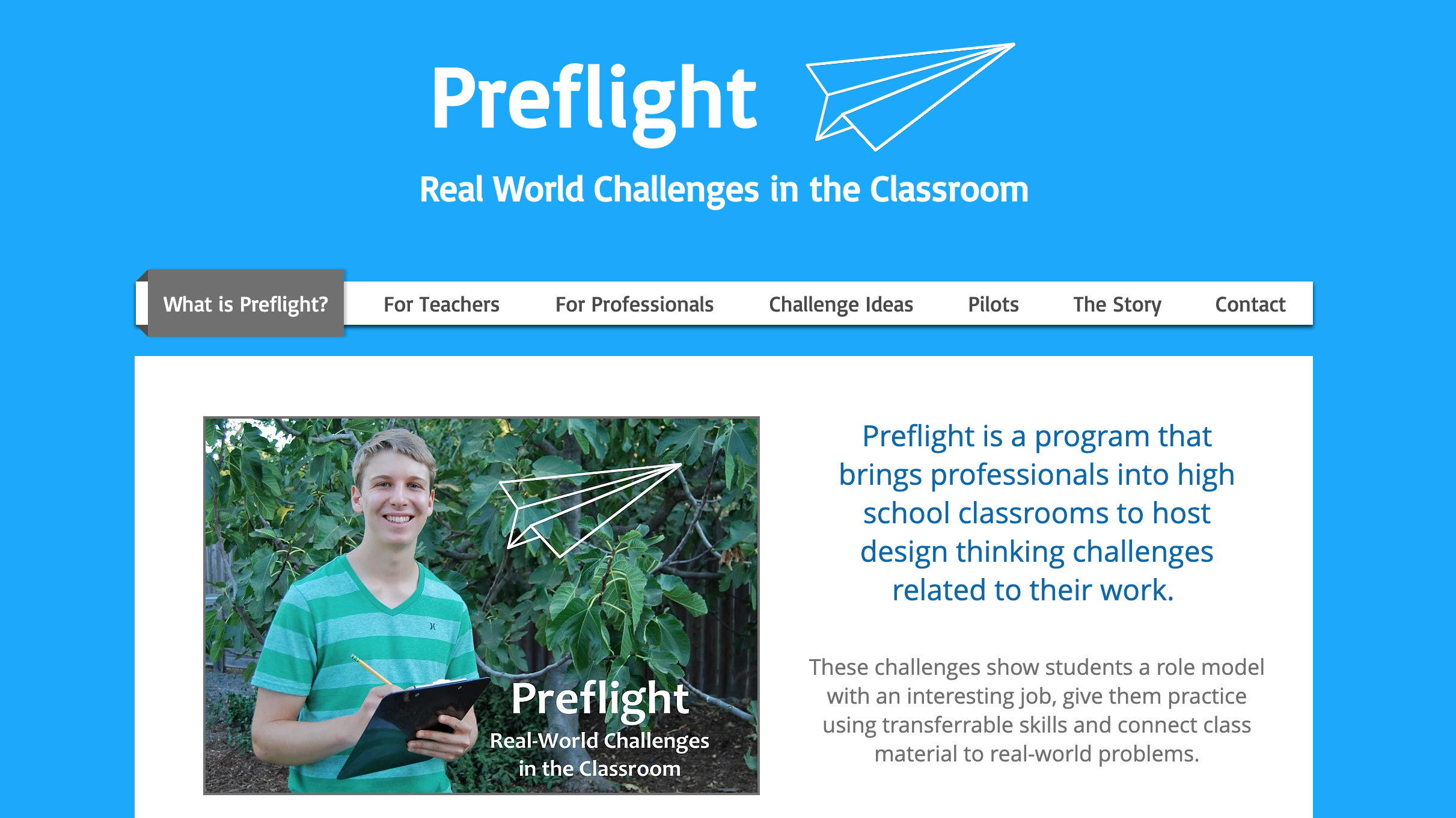 Preflight Website